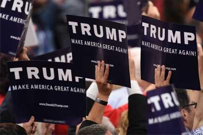 Partido republicano nomina oficialmente a Trump como candidato presidencial