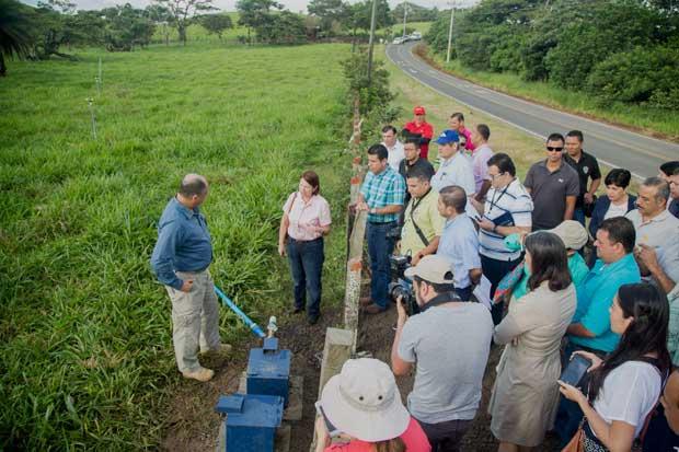 Bagaces inauguró proyecto de riego de 81 hectáreas