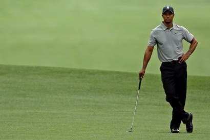 Un año completo sin Tiger Woods