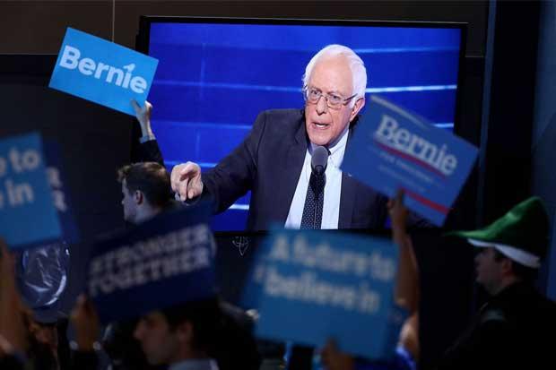 Sanders apoyó a Clinton en convención demócrata