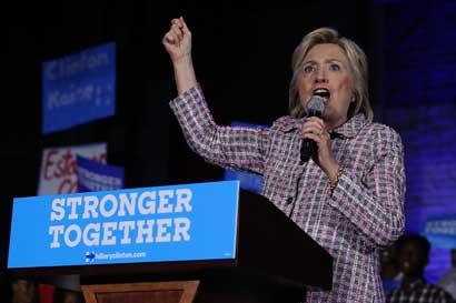 Hillary Clinton será la primera candidata oficial del Partido Demócrata