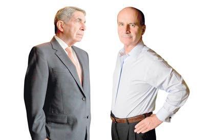 Fichas se alinean a Arias y Figueres
