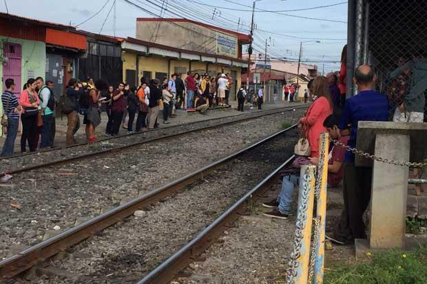 Heredianos exigen estación de tren moderna ante Sala IV