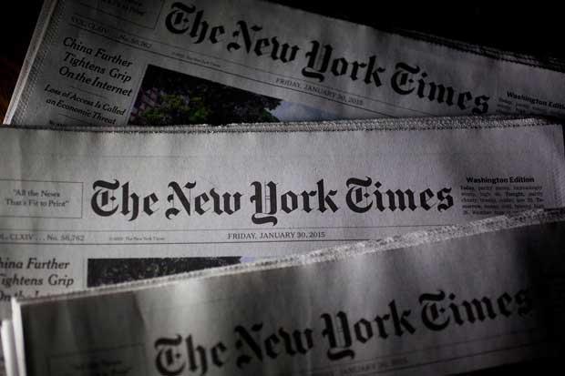 The New York Times decae en publicidad impresa y digital