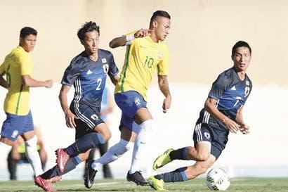 Neymar carga la ilusión de Brasil