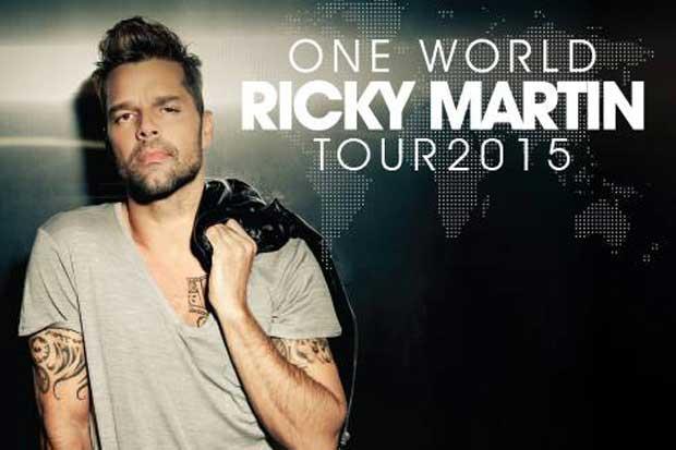 Ricky Martin anuncia concierto en Costa Rica