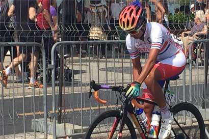 Ciclista Milagro Mena no pudo terminar su prueba en Juegos Olímpicos