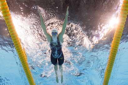 La Dama de Hierro de la natación