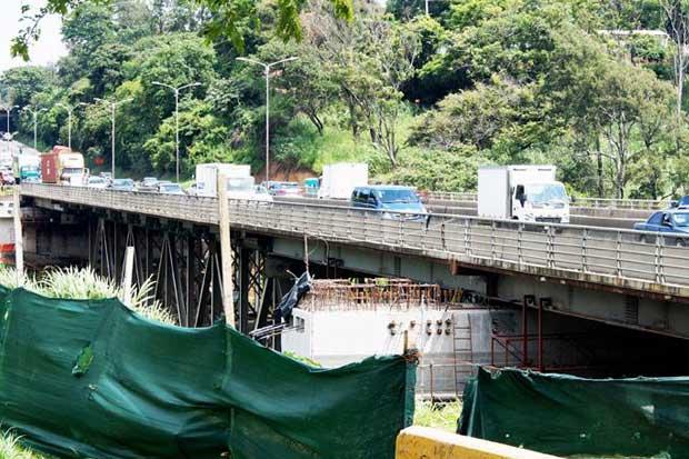 """Puente de """"la platina"""" tendrá cierre nocturno por reparaciones"""