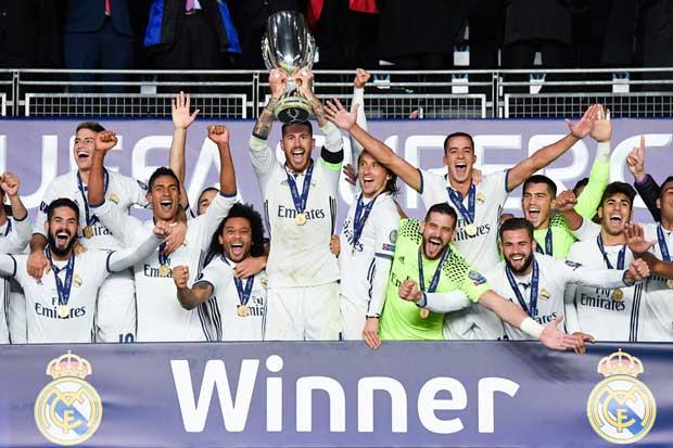 Real Madrid gana Supercopa de Europa en la prórroga