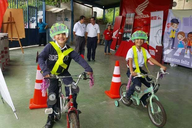 MECO capacitará 1.000 estudiantes sobre seguridad vial