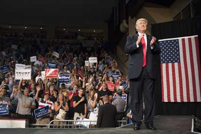 Trump abrirá 24 oficinas de campaña en Florida, donde debe ganar