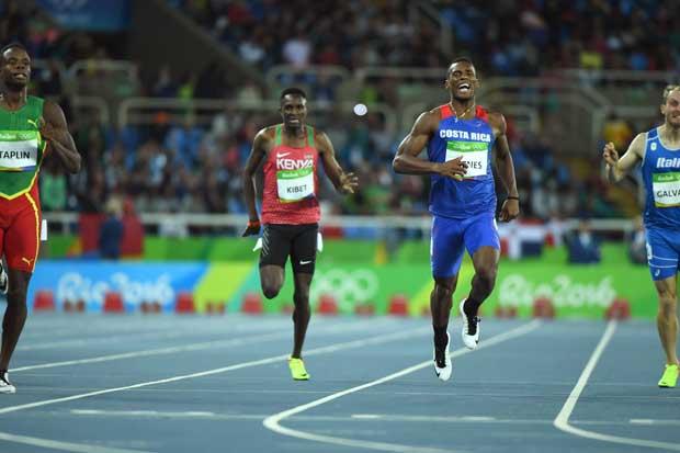 Nery Brenes no clasificó a la final en Juegos Olímpicos