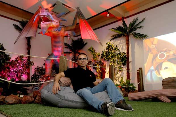 Mundo de dragones animatronics llega al Museo de los Niños