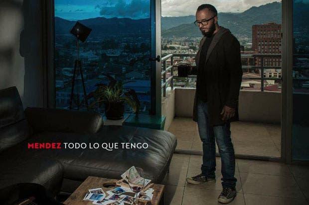 Cantante nacional Jonathan Méndez presentó su nueva producción