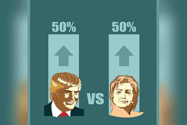 Nivel educativo diferencia a votantes de Clinton de los de Trump