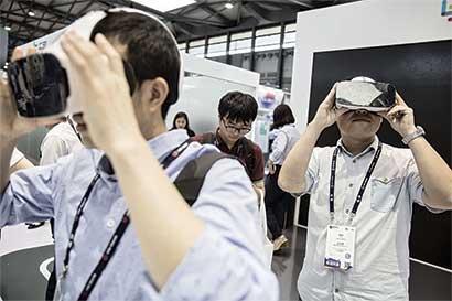 Realidad virtual abre ventana para educación china