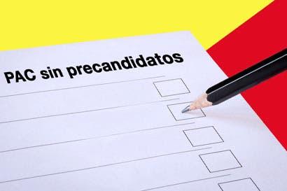 PAC sin precandidatos a año y medio de elecciones