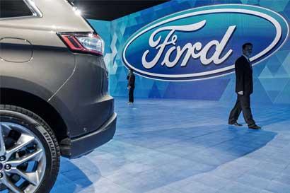 Los vehículos autónomos de Ford circularían en 2021