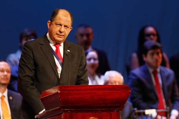 Presidente Solís discutirá sobre migración y cambio climático en Casa Blanca