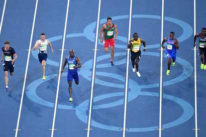 Nery Brenes no avanza a final de 200 metros planos