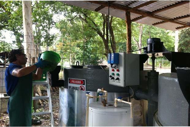 Biodigestor produce energía a partir de desechos de 30 restaurantes