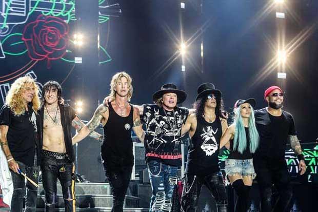 Entradas para Guns N' Roses salen a la venta el lunes