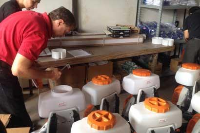 60 nuevas fumigadoras portátiles ayudarán a combatir el vector del Dengue