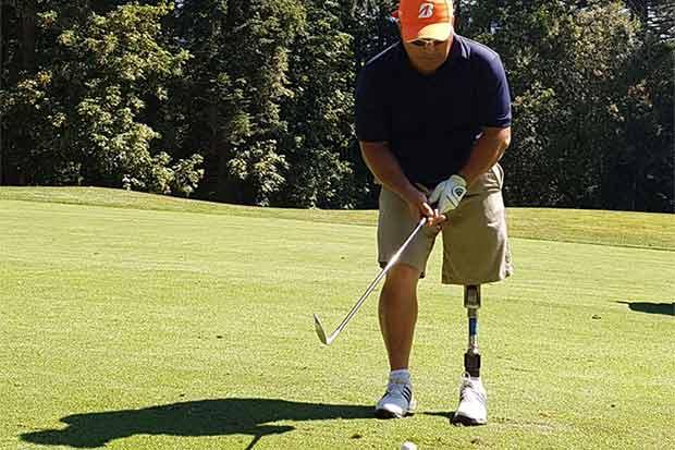 Tico abre puertas en mundial adaptado de golf