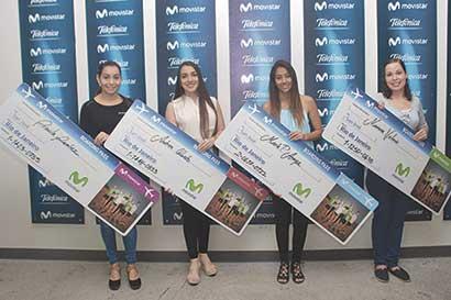Movistar premió a clientes con viaje a Olimpiadas
