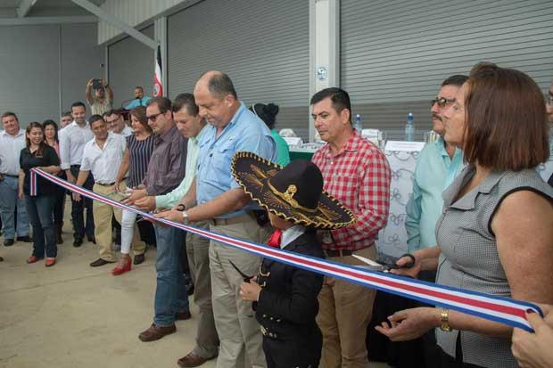 Coopeagri inauguró modernas instalaciones de ¢4millones