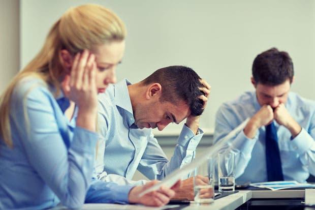 ¿Reacciona con enojo cuando está con estrés?