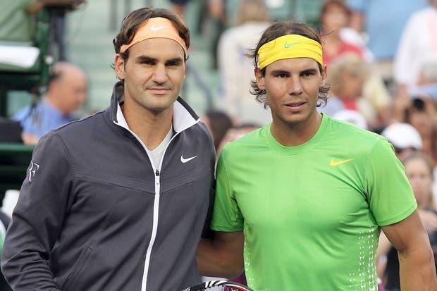 Federer y Nadal sin podio