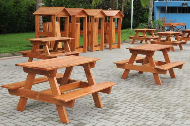 Voluntarios de Walmart instalarán 60 mesas de picnic en La Sabana