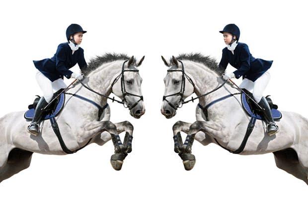 Equitación, dos corazones latiendo