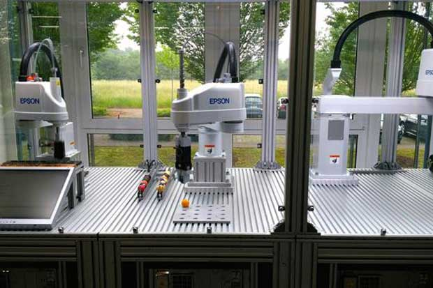 Epson amplía su negocio hacia la industria de la robótica