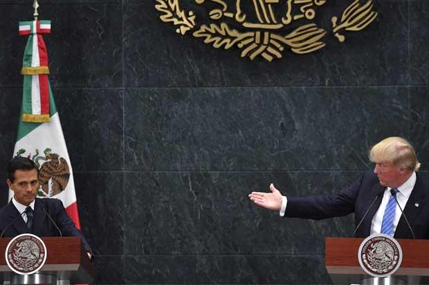 Peña Nieto no ocultó diferencias con Donald Trump