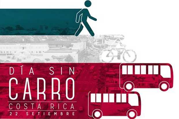 Ciudadanos retan a ticos a dejar el carro el próximo 22 de setiembre