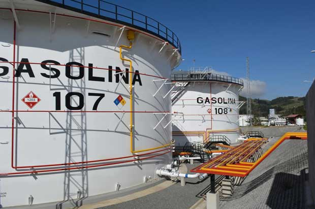 Recope incorporó dos nuevos tanques de Gasolina Regular