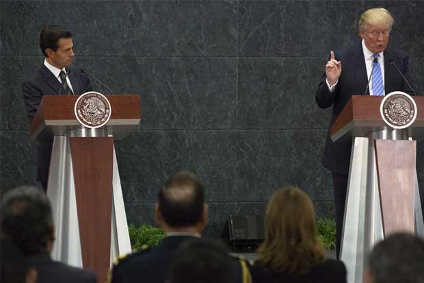 Visita de Trump a México fue contraproducente para Peña Nieto