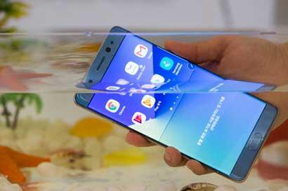 Samsung inspeccionará posibles baterías afectadas del Galaxy Note 7