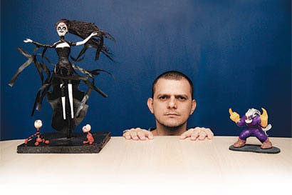 Jóvenes emprendedores crean la escultura que usted desee