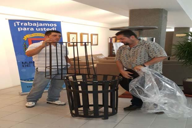 Privados de libertad construirán 500 basureros en la capital