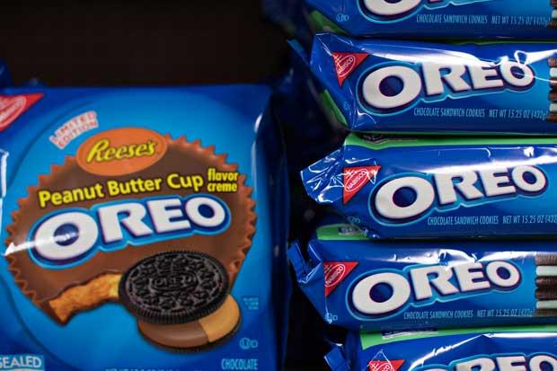 Mondelez se une con Oreo para vender barras de chocolate en Estados Unidos