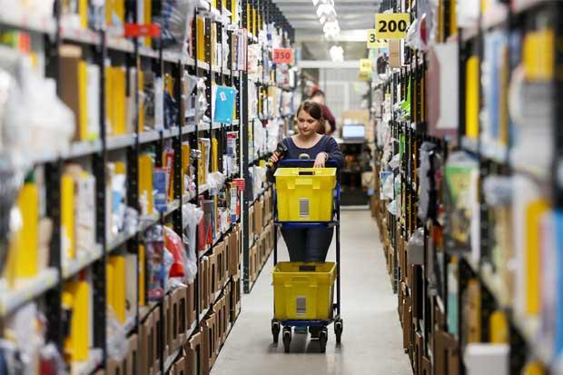 Con menores tiempos de entrega, Amazon amenaza a Alibaba y EBay