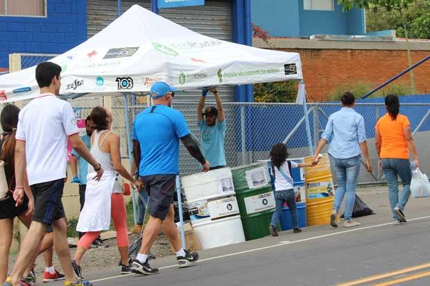 EcoRomería recolectó 3.219 kilogramos de residuos