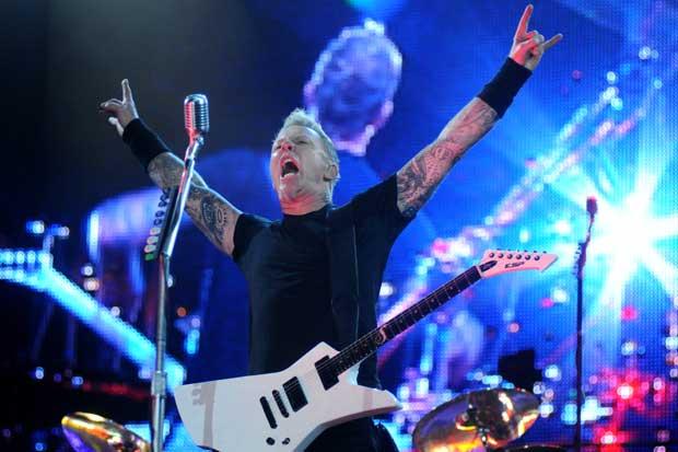 Entradas para concierto de Metallica saldrán a la venta el lunes