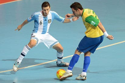 Cracks adornan Mundial de Futsal