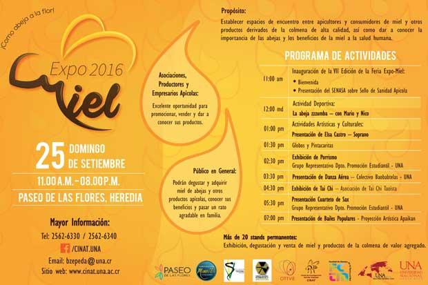 Expo Miel 2016 endulzará el Paseo de las Flores
