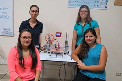 Ensamblan primeras impresoras 3D en Costa Rica